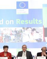 Participation de Jean-Claude Juncker, président de la CE, et de Kristalina Georgieva et Maroš Šefčovič, vice-présidents de la CE, à la conférence 'Un budget européen axé sur les résultats'