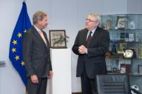 Visit of László Baranyay, Vice-President of the EIB responsible for Evaluation and Information Technologies, to the EC