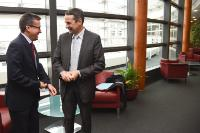 Visit by Thierry Mandon, French Secretary of State for Higher Education and Research to the EC