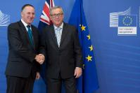 Visit of John Key, New Zealander Prime Minister, to the EC