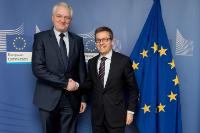 Visit of Jarosław Gowin, Polish Minister for Science and Higher Education, to the EC