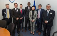 Visit of a delegation of Members of the ITI to the EC