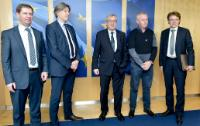 Visit of a delegation from AEGIS Europe and Eurofer to the EC