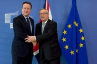 Visit of David Cameron, British Prime Minister, to the EC