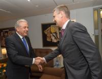Visite de Markus Ederer, secrétaire d'Etat au ministère fédéral allemand des Affaires étrangères, à la CE