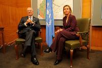 Visite de Federica Mogherini, vice-présidente de la CE, en Suisse