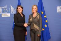 Visit of Atifete Jahjaga, President of Kosovo, to the EC