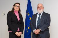 Visit of Montserrat Mir Roca, Executive Committee Member of the European Trade Union Confederation (ETUC), to the EC