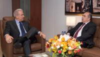 Visit of Markos Kyprianou, Cypriot Minister for Foreign Affairs to the EC