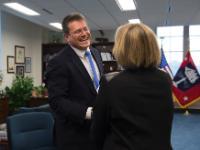 Visite de Maroš Šefčovič, vice-président de la CE, aux Etats-Unis
