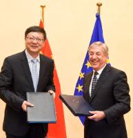 Participation of Karmenu Vella, Member of the EC, at the 6th EU-China Ministerial Dialogue on Environment Policy