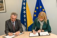 Signature of the Agreement formalising the entry of Bosnia and Herzegovina in the COSME programme