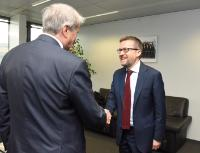 Visit of Horst Reichenbach, EU member of the Board of Directors of the EBRD, to the EC