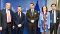 Visite de Horst Reichenbach, directeur pour l'UE à la BERD, à la CE