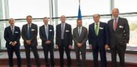 Visit of a delegation of representatives of the Roundtable of European Industrialists, to the EC