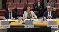 Participation de Marianne Thyssen, membre de la CE, à la première réunion d'une task-force Caterpillar