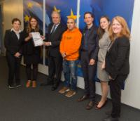 Visite de Pierre Baussand, directeur de la Plate-forme des ONGs européennes du secteur social, à la CE