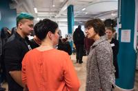 Visite de Marianne Thyssen, membre de la CE, à Helsinki