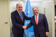 Visite de Dimitris Avramopoulos, membre de la CE, Etats-Unis