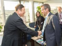 Visit of Ren Zhengfei, CEO and Deputy Chairman of the Board of Directors of the Huawei Technologies, to the EC
