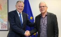 Visit of Evangelos Apostolou, Greek Deputy Minister for Agricultural Development and Food, to the EC