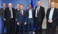 Visit of representatives of three major European Academies of Sciences: Leopoldina, The French Academy of Science and The Royal Society, to the EC