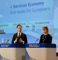 Joint press conference by Jyrki Katainen, Vice-President of the EC, Elżbieta Bieńkowska and Marianne Thyssen, Members of the EC, on the conclusions of the weekly meeting of the Juncker Commission