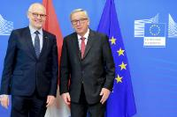 Visit of Serge Telle, Minister of State of Monaco, to the EC