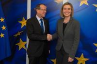 Visite de Martin Kobler, représentant spécial et chef de la Mission de l'Organisation des Nations unies pour le soutien en Libye, à la CE