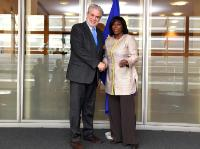 Visit of Ertharin Cousin, Executive Director of the United Nations WFP, to the EC