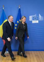 Visit of Igor Dodon, President of Moldova, to the EC