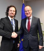 Visit of Indrek Saar, Estonian Minister for Culture, to the EC