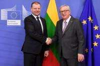 Visite de Saulius Skvernelis, Premier ministre lituanien, à la CE