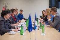 Visite de Marianne Thyssen, membre de la CE, en Estonie
