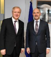 Visit of Olli Rehn, Member of the Board of the Bank of Finland, to the EC
