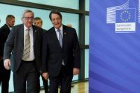 Visite de Nicos Anastasiades, président de Chypre, à la CE