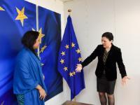 Visite d'Ismat Jahan, envoyée de l'Organisation de la coopération islamique dans la mission d'observation permanente auprès de l'UE, à la CE