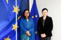 Visit of Ismat Jahan, Envoy of the Organisation of Islamic Cooperation in the Permanent Observer Mission to the EU, to the EC