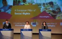 Conférence de presse Marianne Thyssen et Vĕra Jourová, membres de la CE
