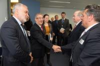 Visit of representatives of the French fisheries sector, to the EC
