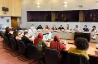 Visite de représentants des organisations de jeunesse à la CE