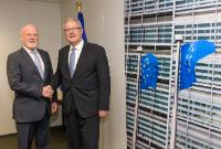 Visit of Peter Thomson, President of the 71st Session of the UN General Assembly (UNGA 71), to the EC