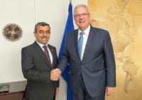 Visit of Mahdi Al-Alaq, Secretary General of the Iraqi Council of Ministers, to the EC