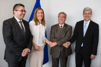 Visit of Bulgarian Ministers to the EC