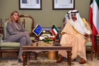 Visit of Federica Mogherini, Vice-President of the EC, to Kuwait
