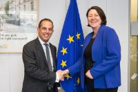 Visit of Marios Demetriades, Cypriot Minister for Transport, Communications and Works, to the EC