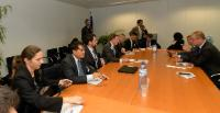 Visit of a delegation of the European Chamber of Commerce of Vietnam, to the EC