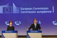 Press conference of Valdis Dombrovskis, Vice-President of the EC, and Marianne Thyssen, Member of the EC,  on the Initiative for Apprenticeships