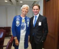 Visit of Jyrki Katainen, Vice-President of the EC, to The United States of America
