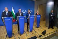 Visite de Boïko Borissov, Premier ministre bulgare, à la CE